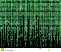 Green Matrix Stock Illustration - 49825584