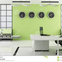 Office Chair Illustration Kids Ikea Green With Waiting Space Stock - Image: 19416920