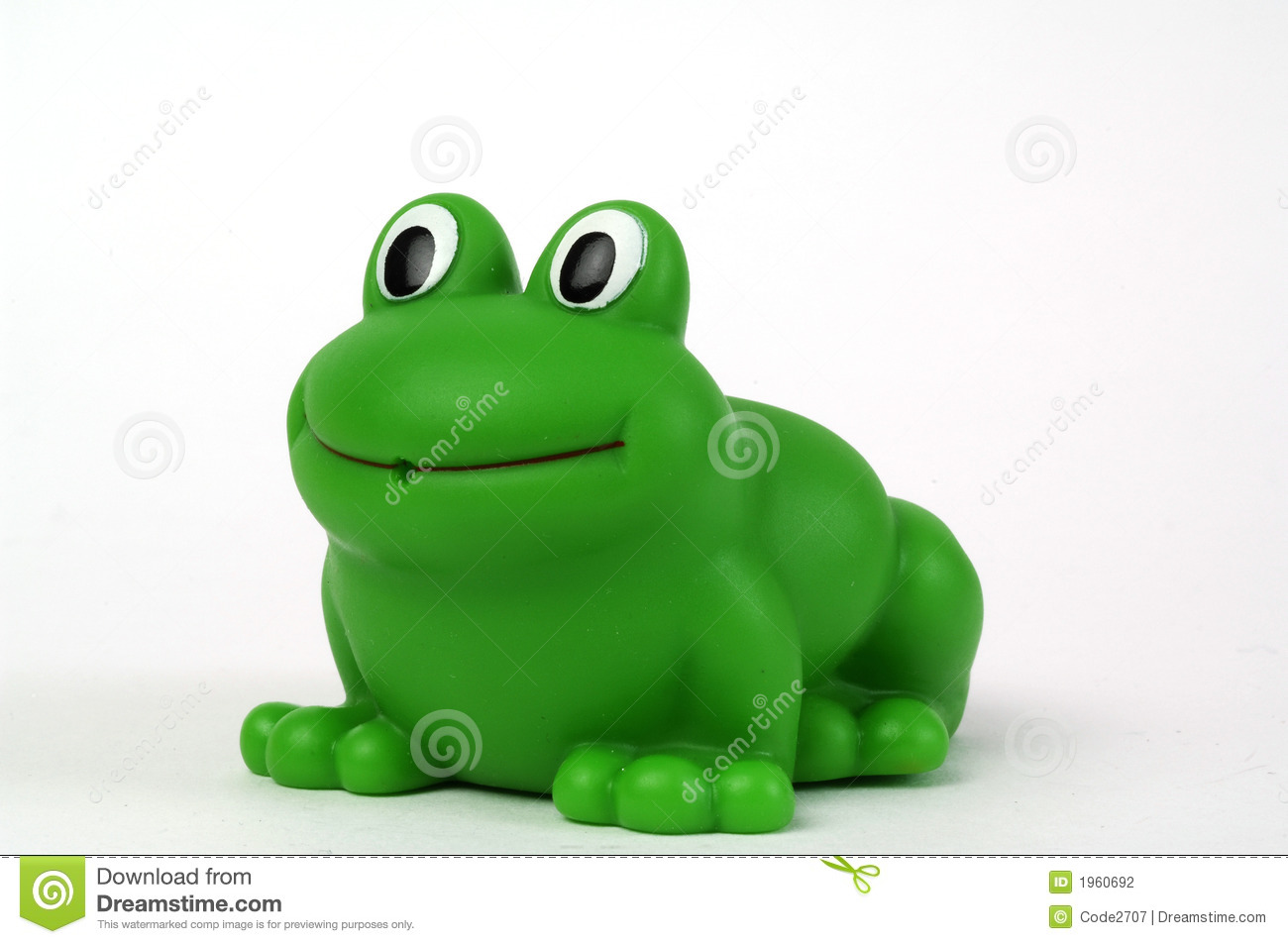 Green Plastic Frog Stock Photo Image Of Clean Green