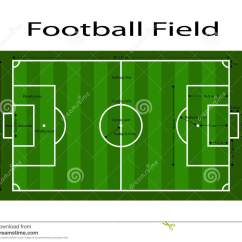Diagram Of Football Ground With Measurements Pioneer Super Tuner Iii D Wiring Green Soccer Field Line