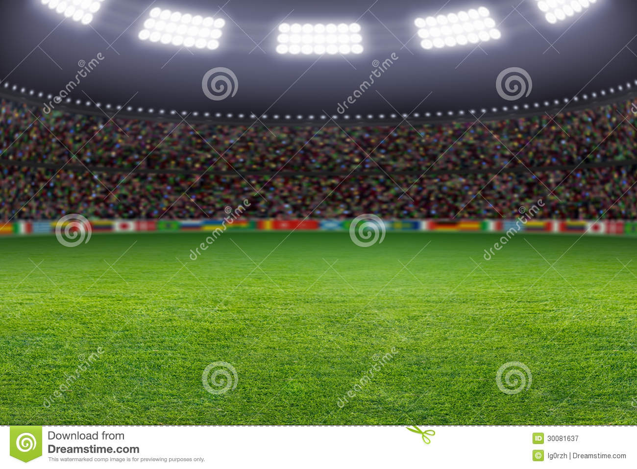 3d Football Stadium Wallpaper Soccer Stadium Royalty Free Stock Photography Image