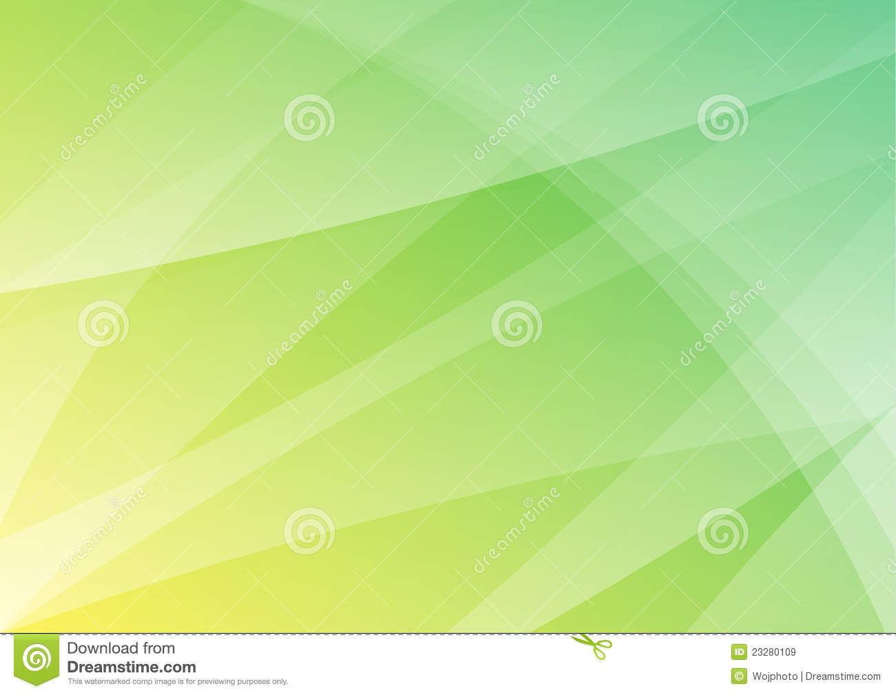 White Wave 3d Wallpaper Green And Yellow Abstract Background Wallpaper Stock