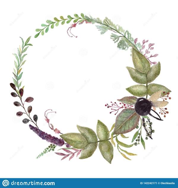 wreath template free # 15