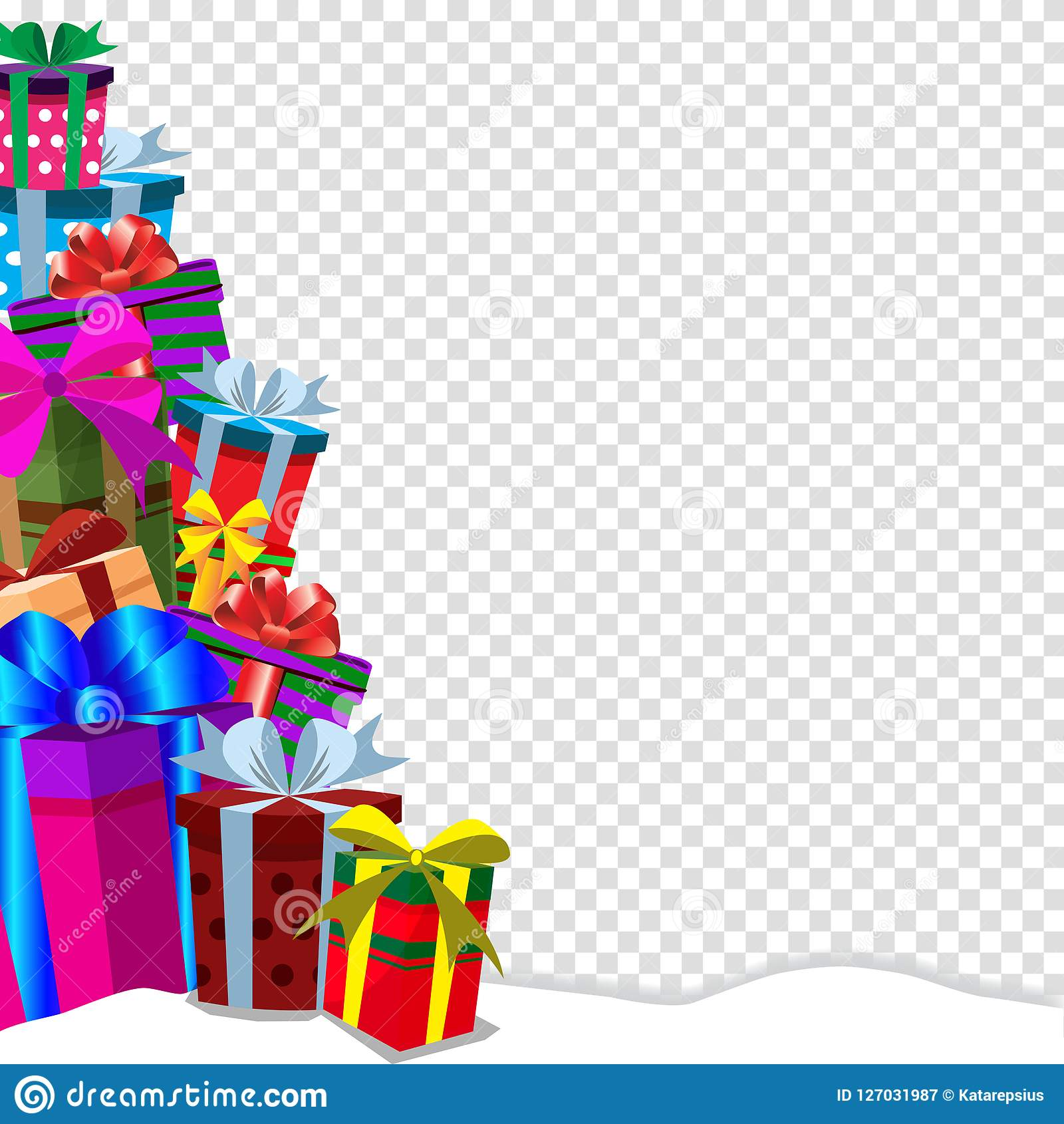 Christmas Gift Clipart Transparent Background
