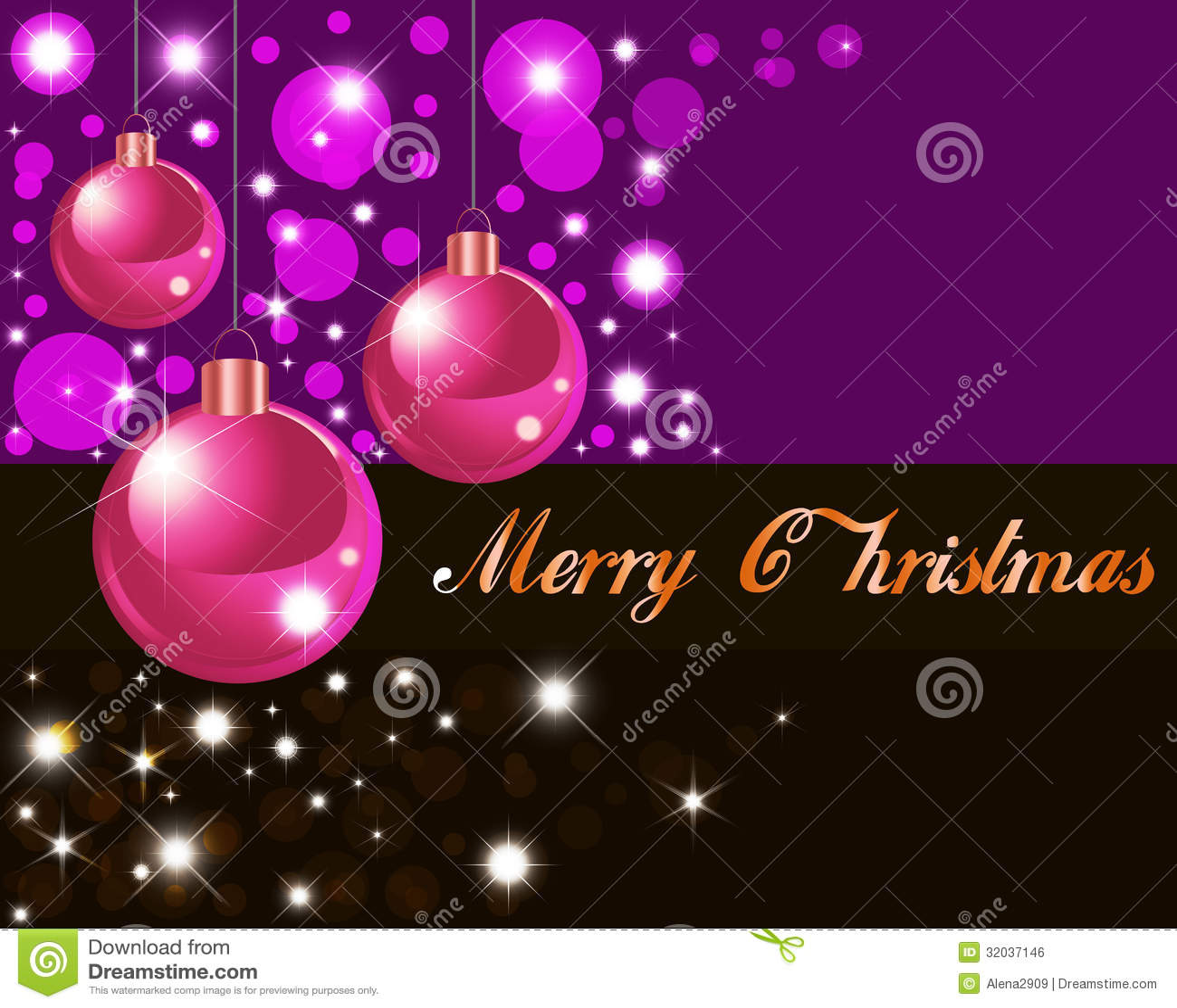 Greeting Christmas Card 2015 Stock Illustration Image