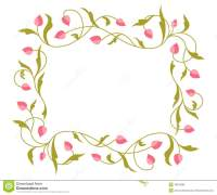 Greetings Card With Floral Pattern. Stock Vector - Image ...