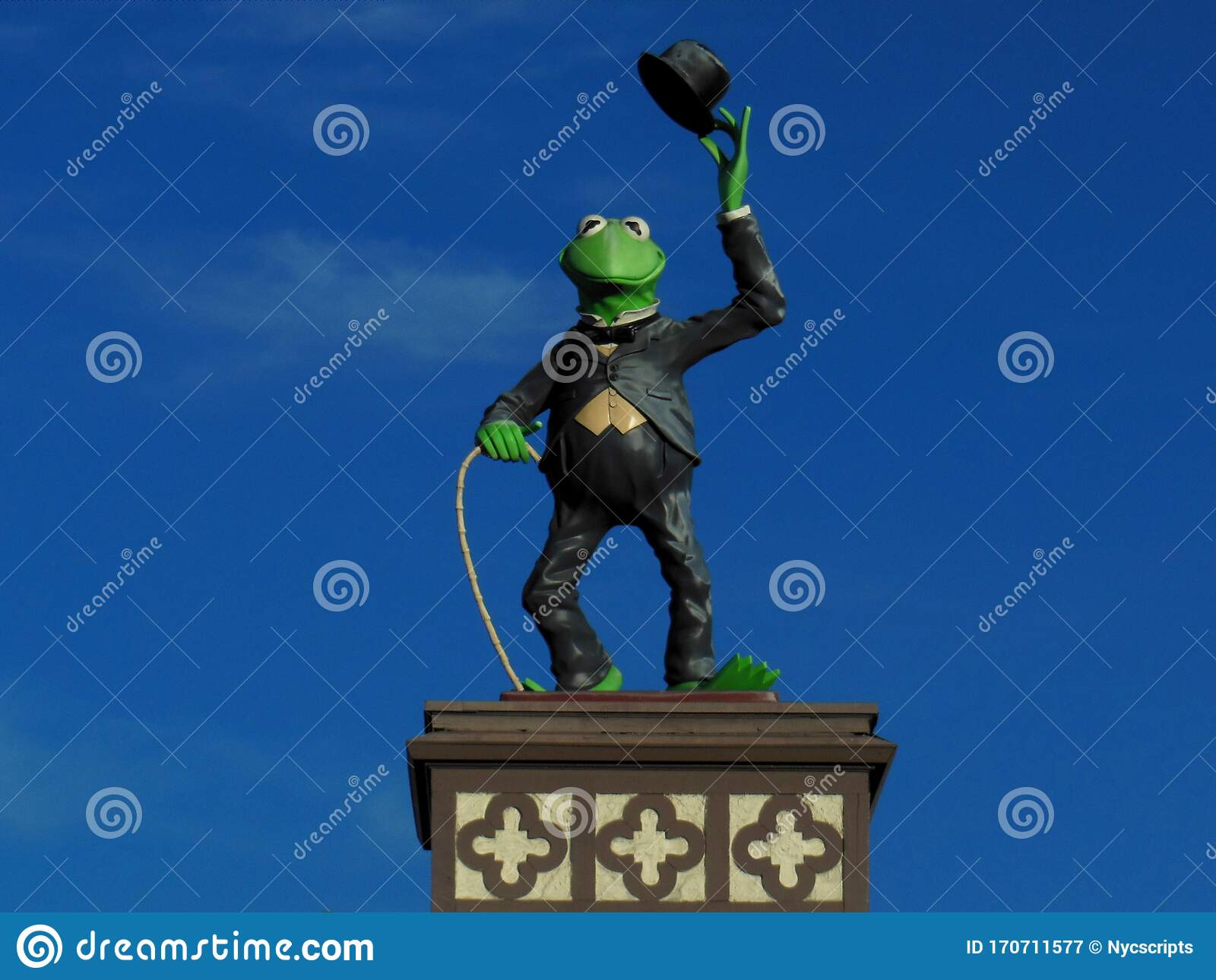 Kermit The Frog At The Jim Henson Studio In Hollywood ...