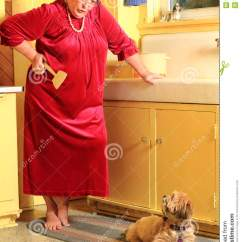Cheap Kitchen Sink Home Depot Faucets Delta Grumpy Granny, Puppy In Trouble Stock Photos - Image: 32869233
