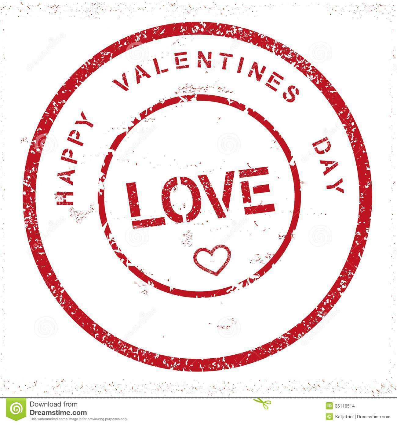 Grunge Happy Valentines Day Stamp Stock Images Image