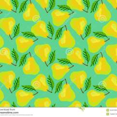 Kitchen Wallpaper Patterns Best Pull Out Faucet Grunge Pattern With Painted Yellow Pears And Leafs Stock