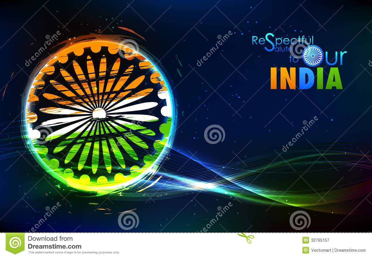 Ashok Chakra 3d Wallpaper Grungy Indian Flag Royalty Free Stock Photography Image