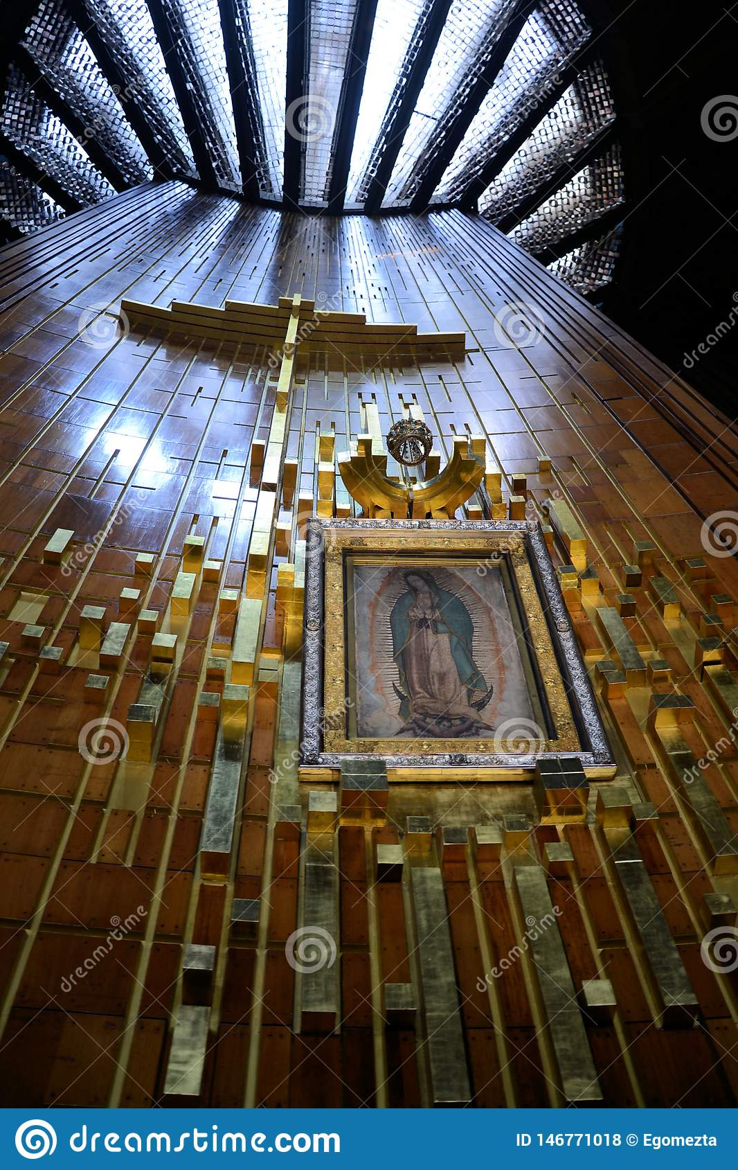 Guadalupe Virgin Editorial Stock Photo Image Of Parroquia