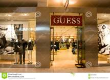 Guess Store Editorial Stock - 28023608