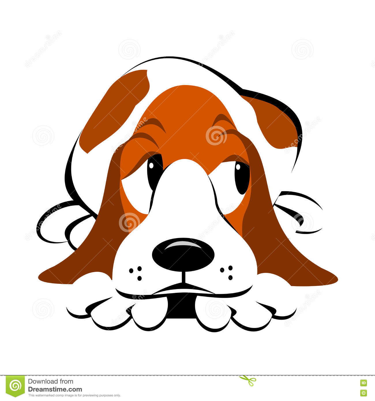 hight resolution of guilty dog clipart