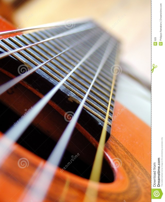 Guitar stock photo. Image of guitar, detail, parallel ...
