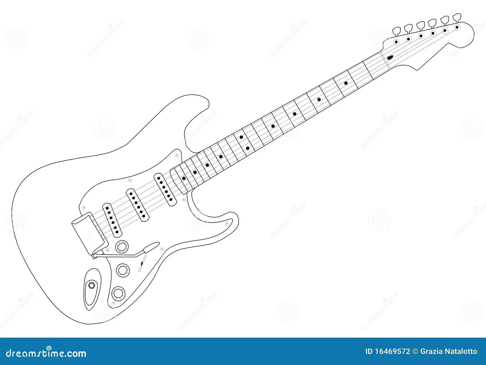Guitar 01 Stock Photography