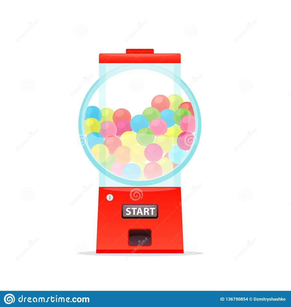medium resolution of gumball machine candy dispenser icon vending clipart isolated on white background