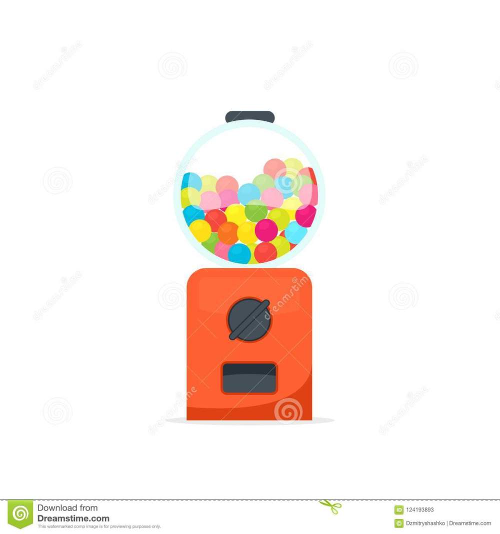 medium resolution of gumball machine icon vending clipart isolated on white background