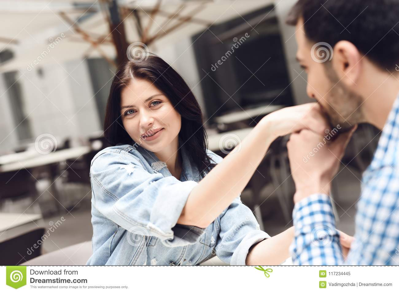 guy kisses the hand