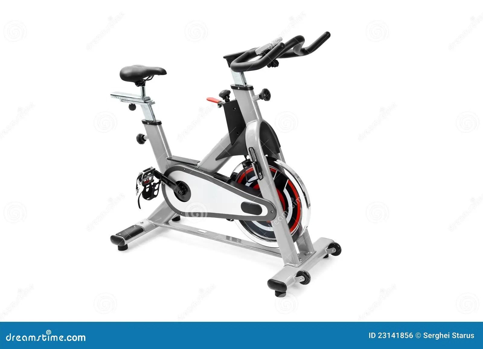 Gym Equipment Spinning Machine Royalty Free Stock Image
