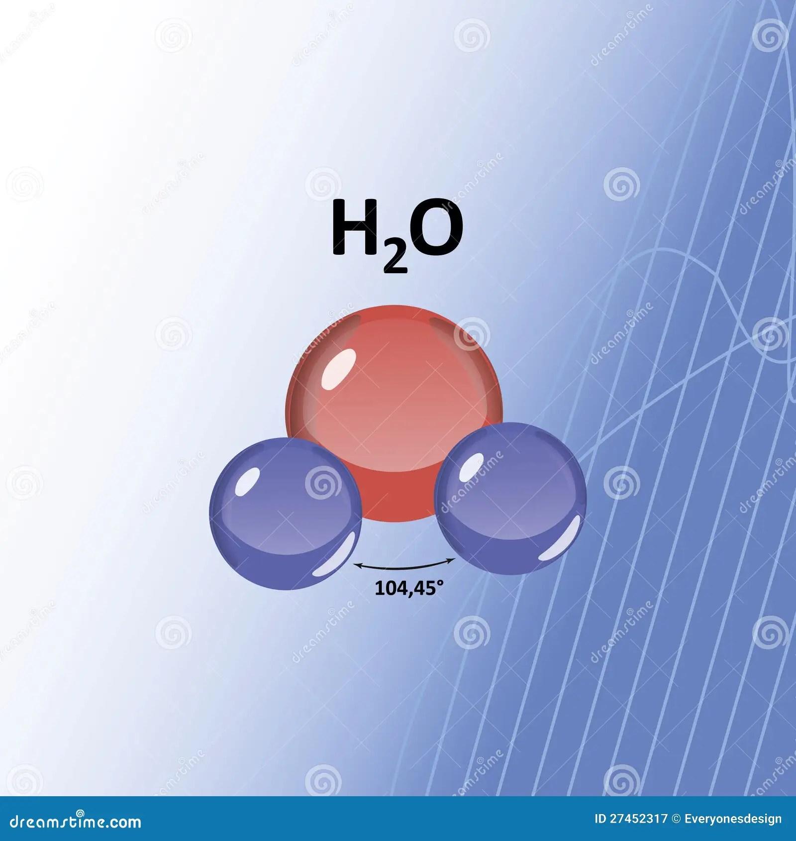 H2O水分子