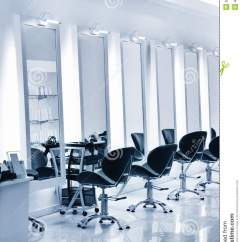 Chair For Makeup Cushions Outdoor Chairs Nz Hair Salon Stock Image - Image: 9296771