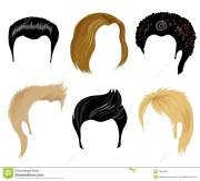hair styling man royalty free