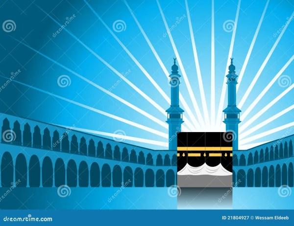 Hajj Background 1 Stock Vector - 21804927