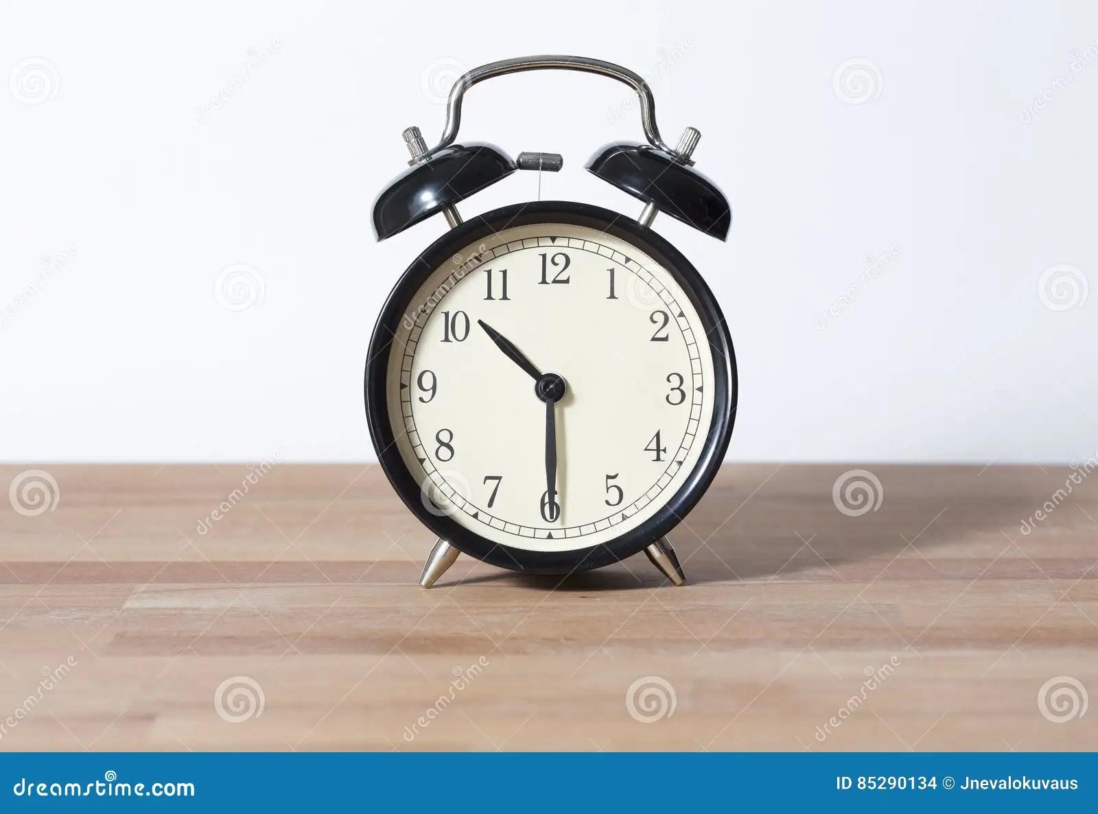 It Is Half Past Ten O Clock Stock Photo