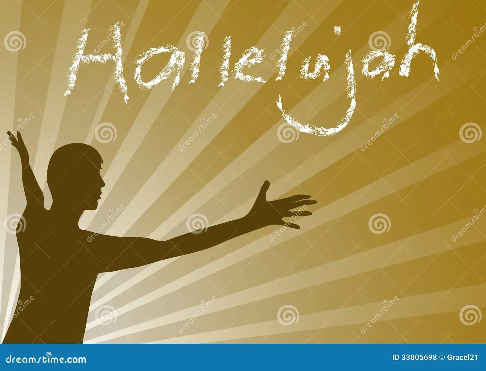 Hallelujah Jesus Royalty Free Stock Photos - Image: 33005698