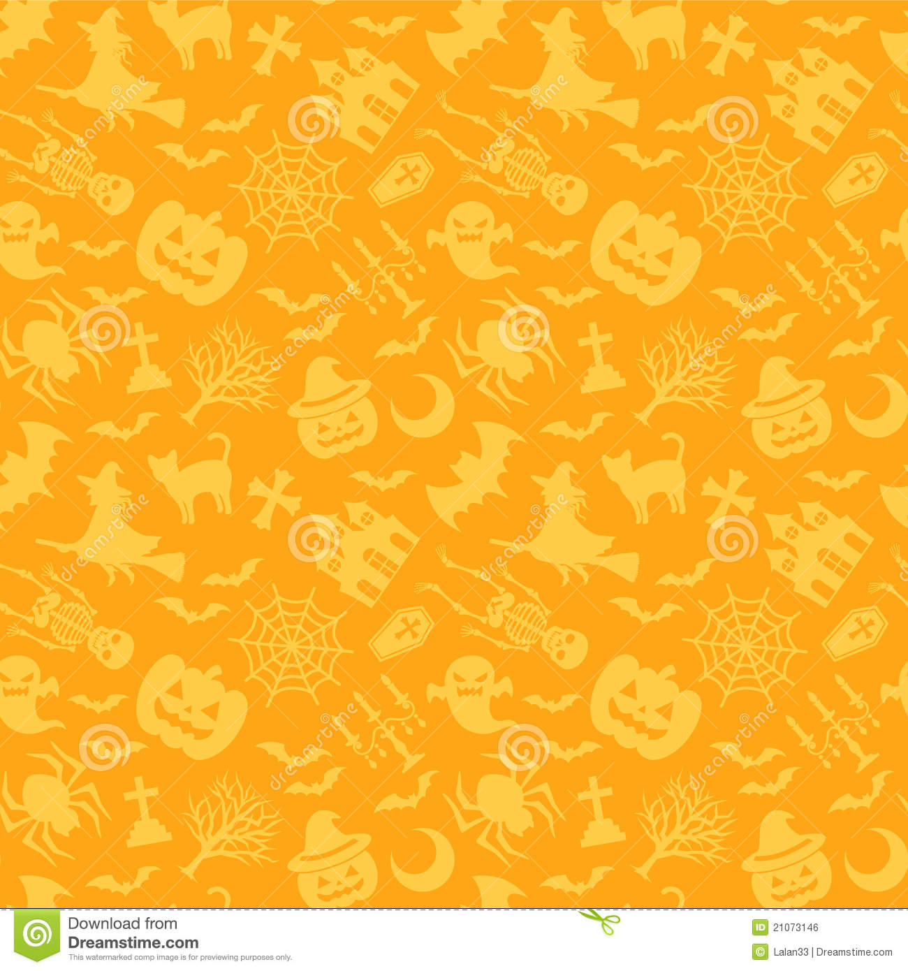 Cat In Fall Wallpaper Halloween Background Stock Vector Image Of Decoration