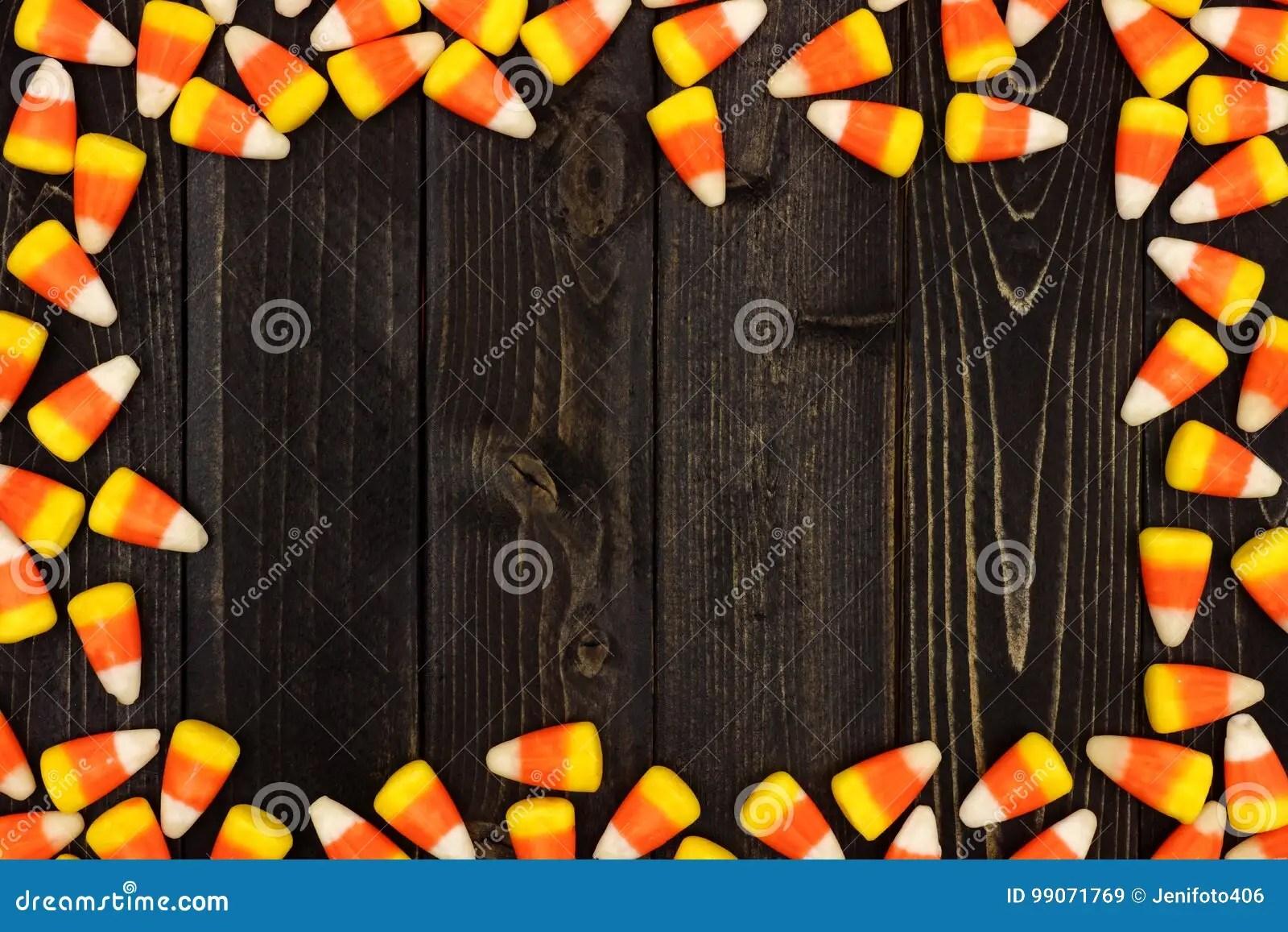 halloween candy corn frame