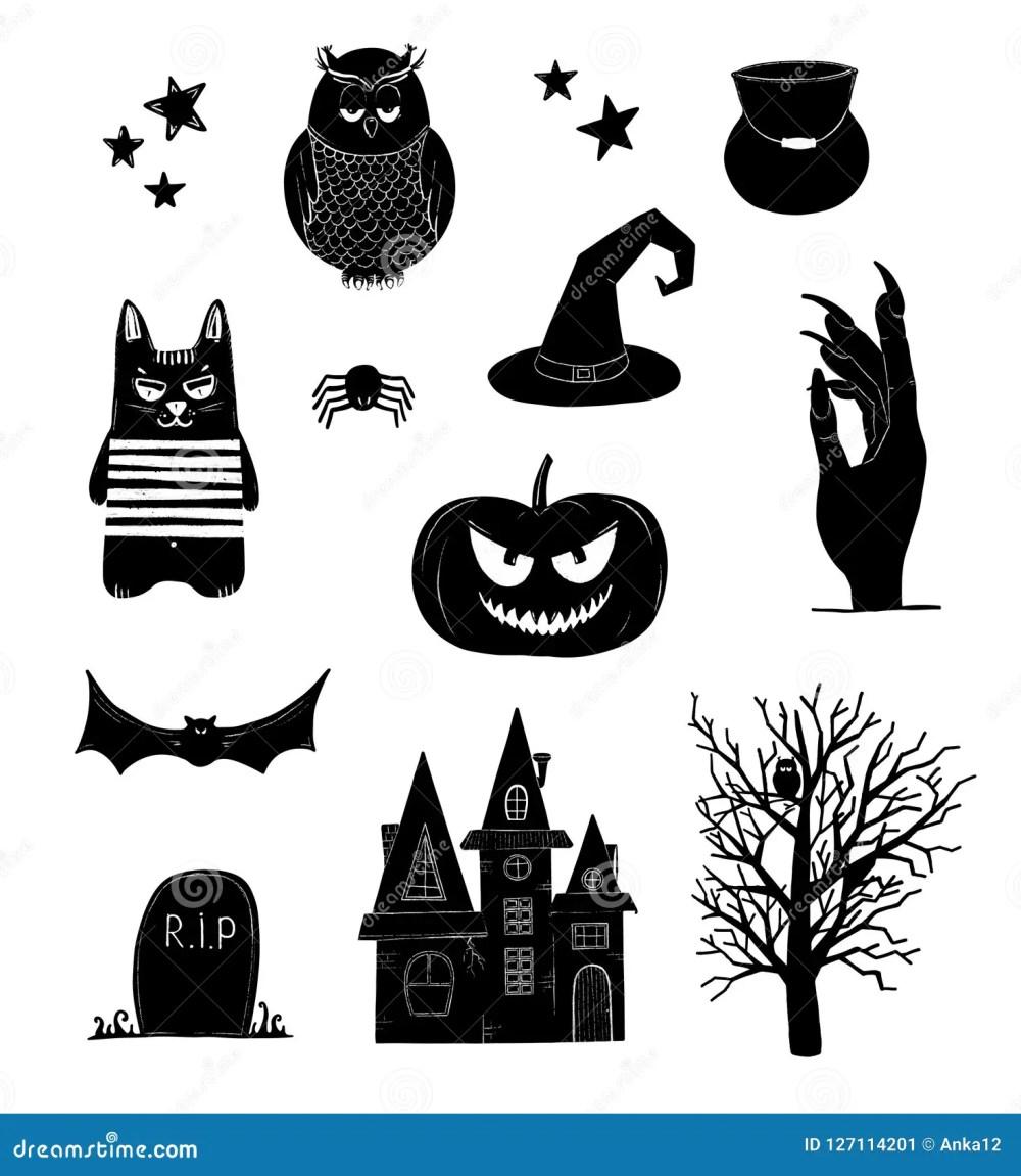 medium resolution of halloween clip art black and white pumpkin owl witch bat clipart
