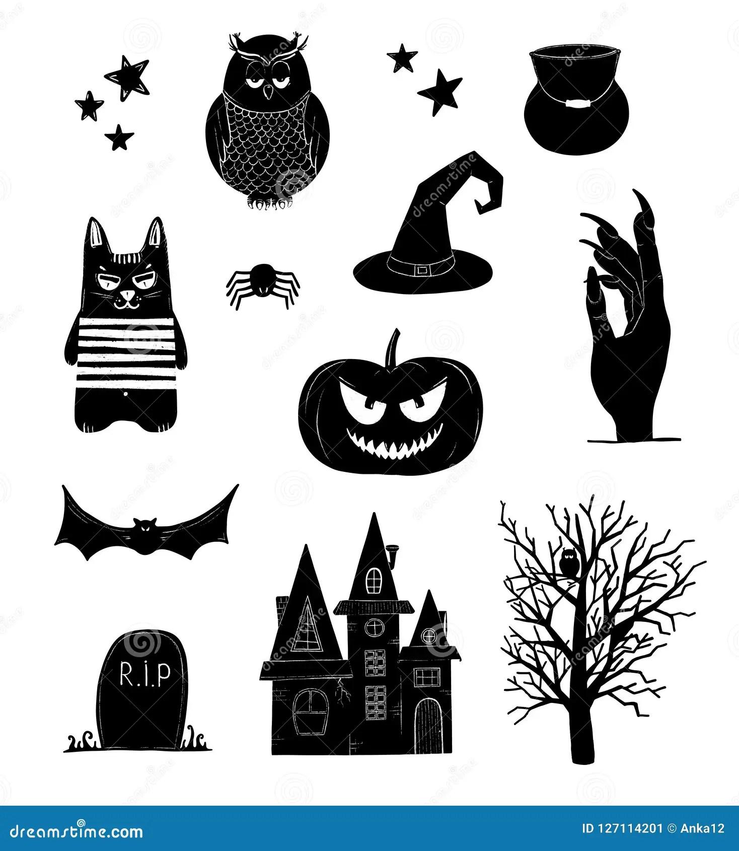 hight resolution of halloween clip art black and white pumpkin owl witch bat clipart