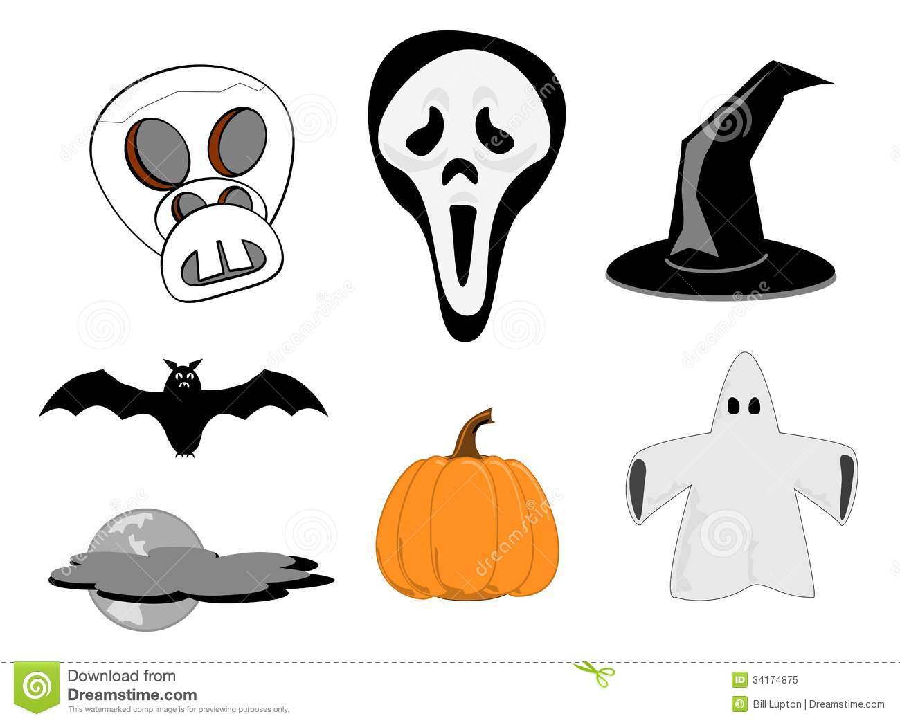 hight resolution of halloween clipart