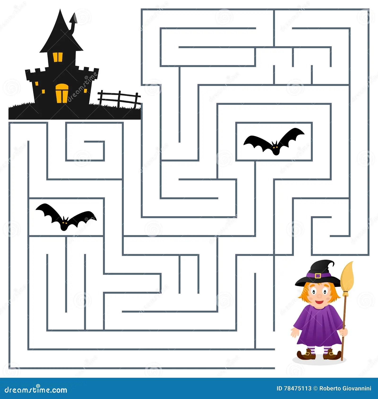 Halloween Labyrint