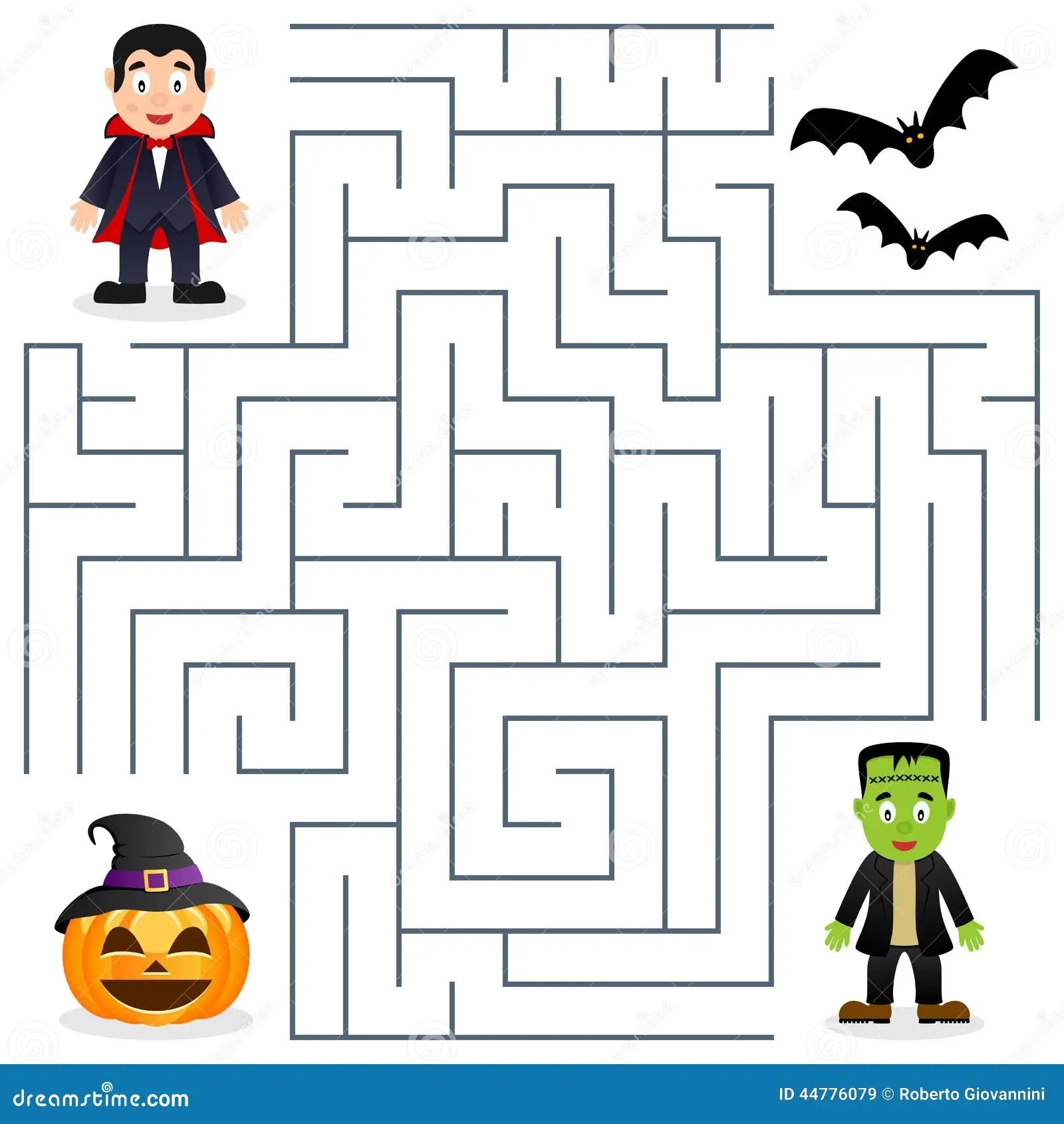 Halloween Labyrinth