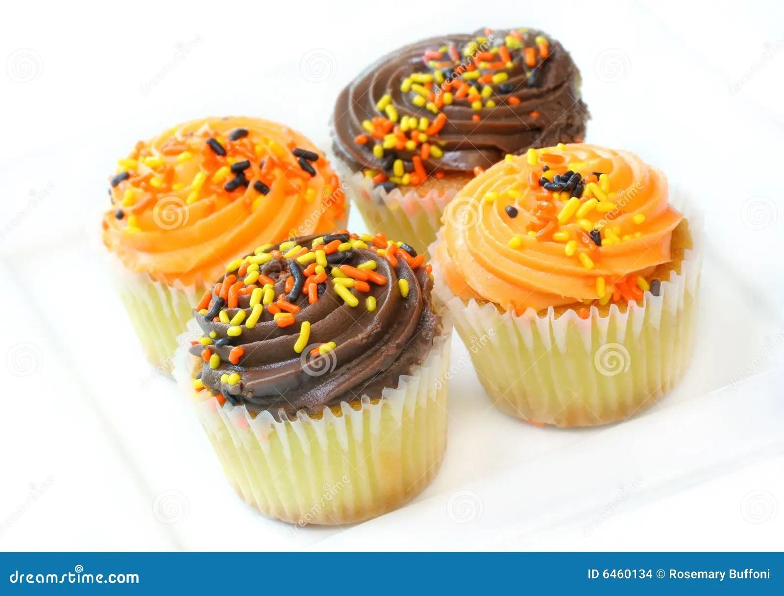 HalloweenPartykleine Kuchen Stockfoto  Bild 6460134