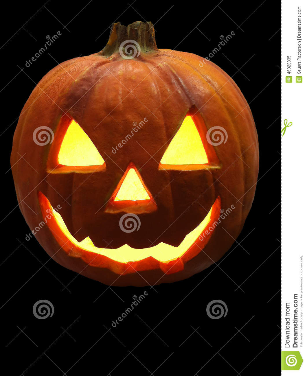 Pumpkin Black Lantern