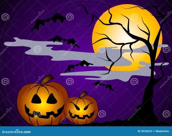 Halloween Pumpkins Clip Art 2 Stock Illustration