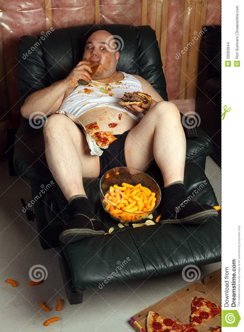 chair design program room chairs designs hamburger eating lazy couch potato stock images - image: 20263844