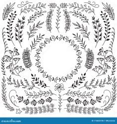 Rustic Floral Border Stock Illustrations 49 037 Rustic Floral Border Stock Illustrations Vectors & Clipart Dreamstime