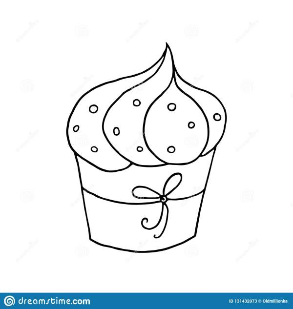 cupcakes coloring pages # 66