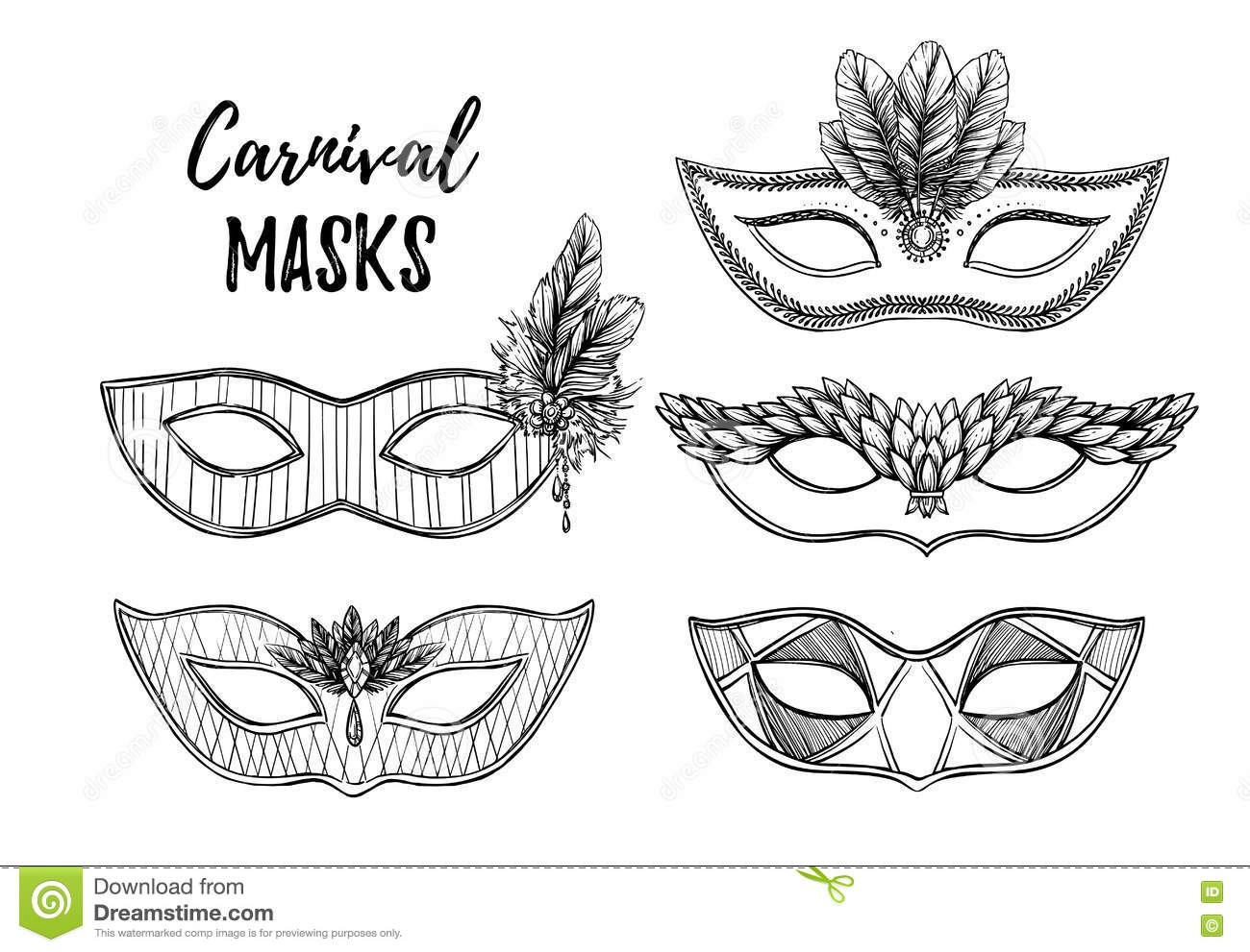 Carnival Vector Illustration. Cartoon Vector