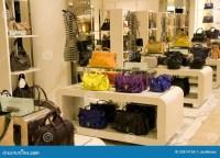 Handbag Purse Department Store Stock Photo