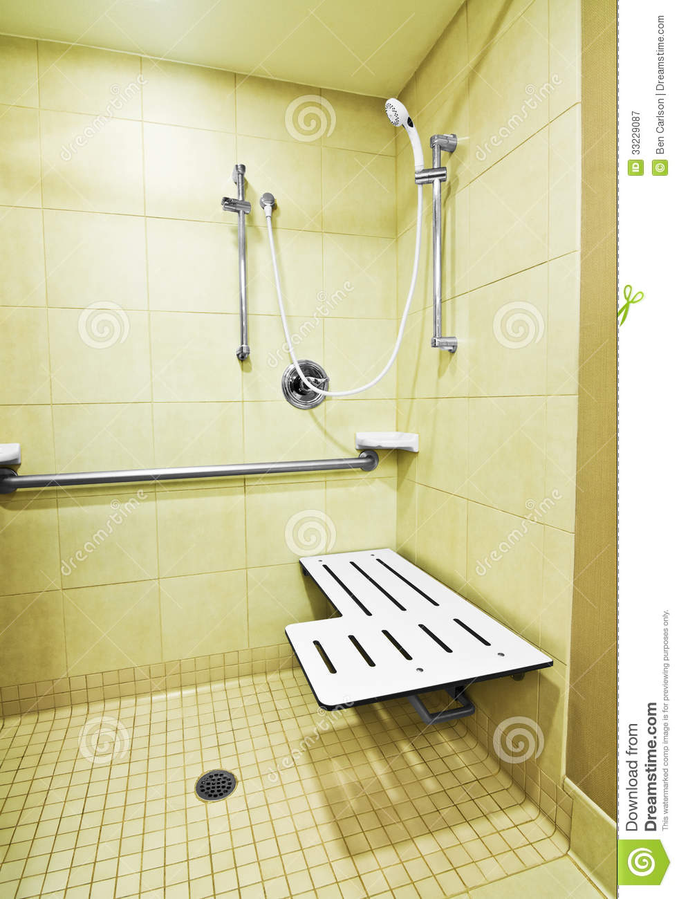 Handicap Shower Royalty Free Stock Photography Image 33229087