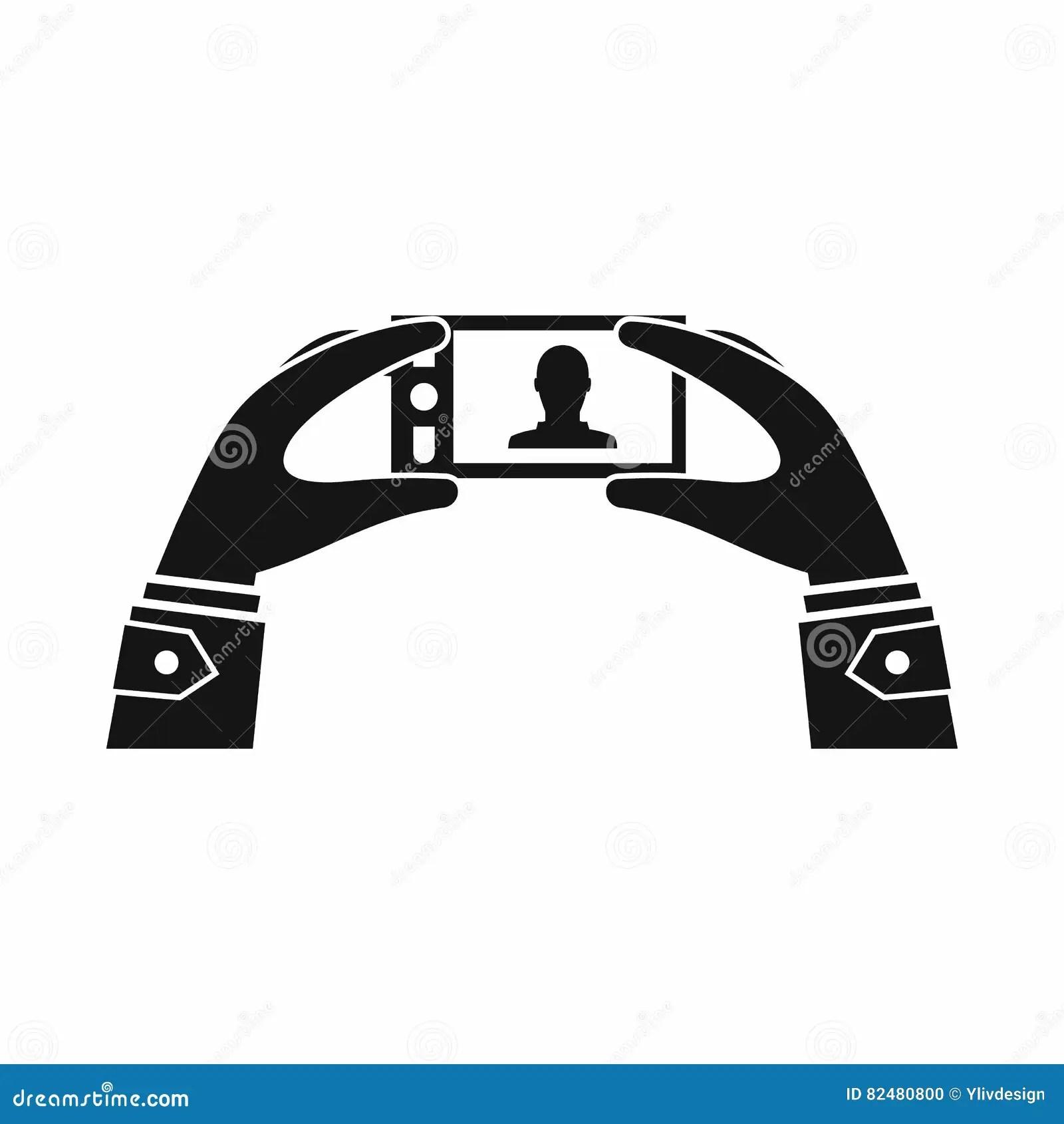Door Switch Symbol & Hand / Gate Symbol Door Exit Push