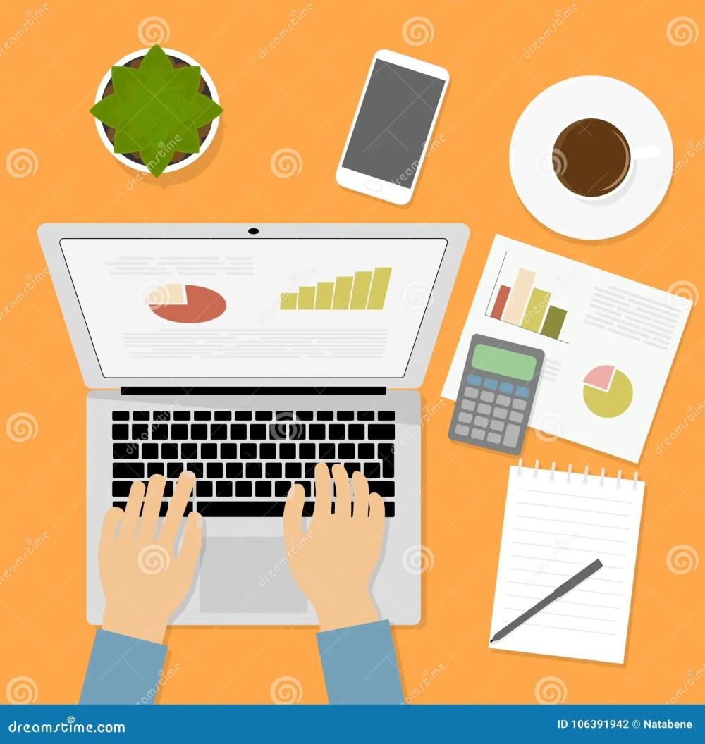 medium resolution of hands typing text on computer keyboard graph chart calculator