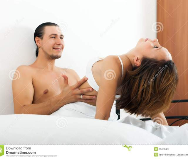 Handsome Man Having Sex With Woman
