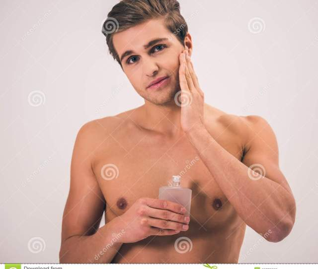 Handsome Young Man Stock Image Image Of People Bare